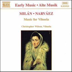 クラシック・クール クール・サウンド ミラン/ナルバエス:ビウエラのための作品集