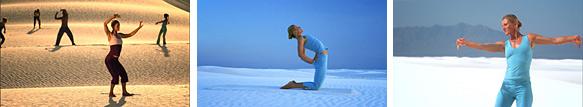フロー・ヨガシバ・レー〜白砂漠ですべてを解放する、ヴィンヤサ・ヨガ〜 イメージ