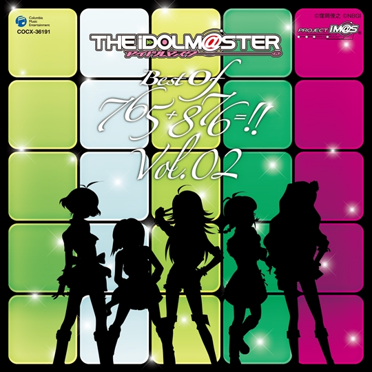 THE IDOLM@STER BEST OF 765+876=!! VOL.02《通常盤》
