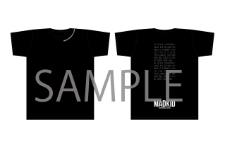 MADKID LIVE2018 'Never going back' Tシャツ(Lサイズ)