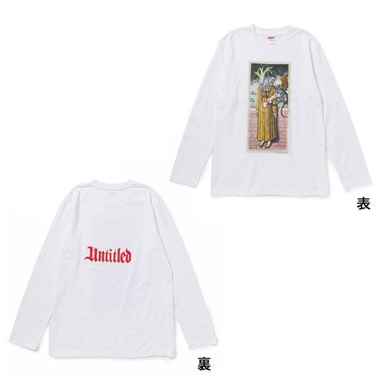 Untitled Tour Long Sleeve T-Shirt White L
