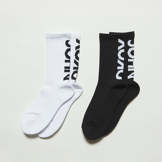 【限定数生産】JOHN AND YOKO SOCKS BLACK+WHITE