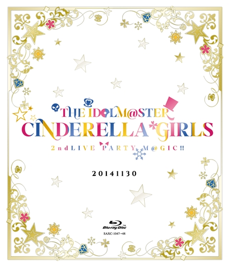 THE IDOLM@STER CINDERELLA GIRLS 2ndLIVE PARTY M@GIC!!  Blu-ray2枚組