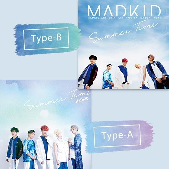Summer Time【Type-A/B同時購入セット】(サイン入りポスター付き)